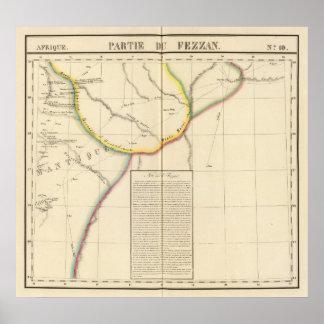 Sáhara, Libia, África 10 Póster