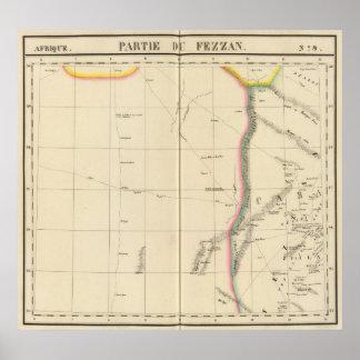 Sáhara, Libia, África 9 Póster
