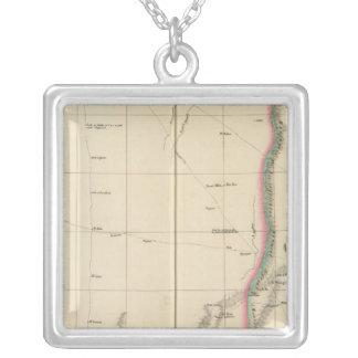 Sahara, Libya, Africa 9 Square Pendant Necklace
