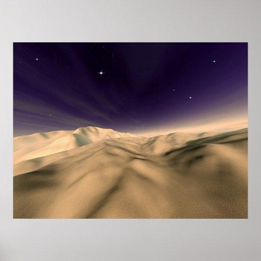 Sahara Night Print
