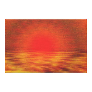 """Sahara Sunset"" Canvas Print"