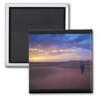Saharan Sunrise 2 Inch Square Magnet