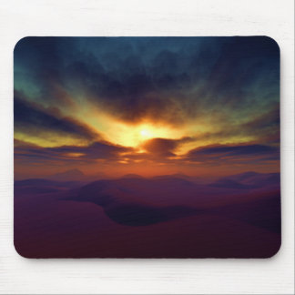 Saharan Sunset Mouse Pads
