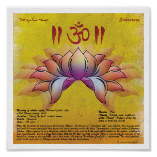 Sahasrara Chakra Poster