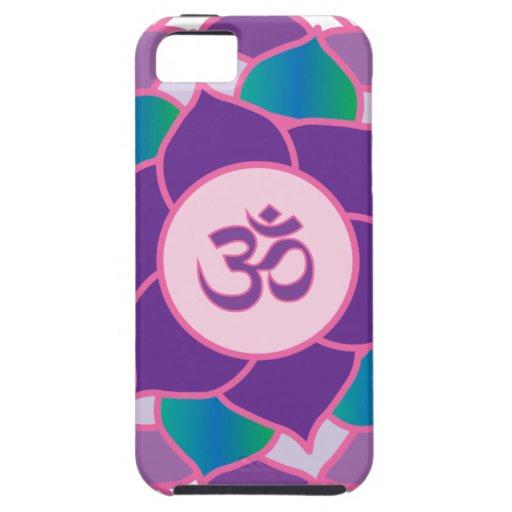 Sahasrara - la yoga Petaled de Chakra 1000 de la c iPhone 5 Case-Mate Protectores