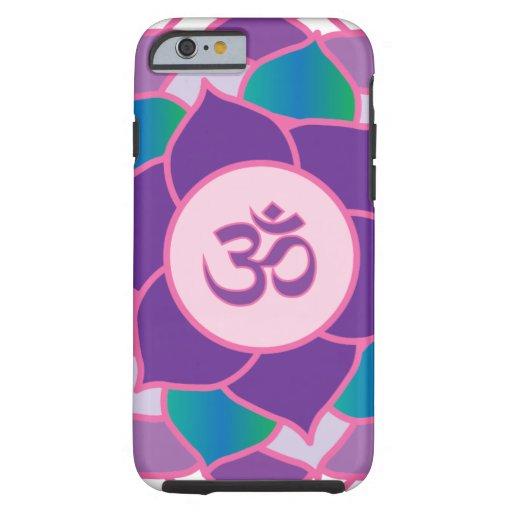 Sahasrara - la yoga Petaled de Chakra 1000 de la Funda De iPhone 6 Tough