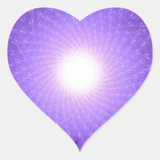 Sahasrara - The Thousand-Petalled Lotus Heart Sticker