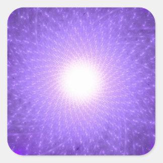 Sahasrara - The Thousand-Petalled Lotus Square Sticker