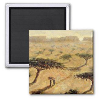 Sahelian Landscape 2002 Magnet