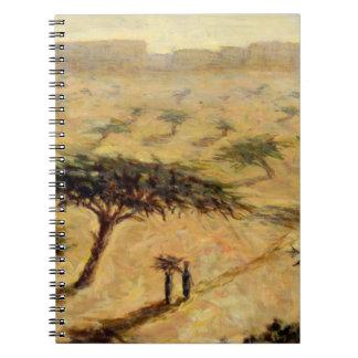 Sahelian Landscape 2002 Notebook
