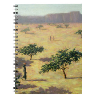Sahelian Landscape Mali 1991 Spiral Notebook