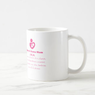 SAHM Heart Coffee Mug