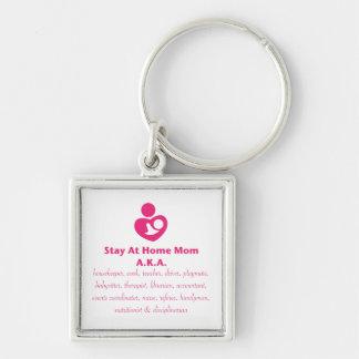 SAHM Heart Key Chains