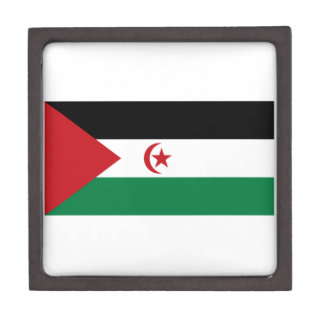 Sahrawi Arab Democratic Republic Flag Keepsake Box