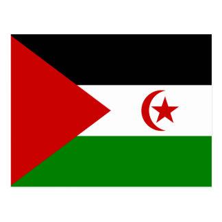 Sahrawi Arab Democratic Republic Flag Postcard