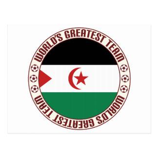 Sahrawi Arab Democratic Republic Greatest Team Postcard