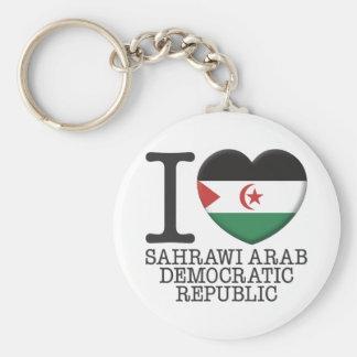 Sahrawi Arab Democratic Republic Keychain
