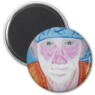 SAI BABA of Sirdi Monk Master Guru Yogi Blessing 2 Inch Round Magnet