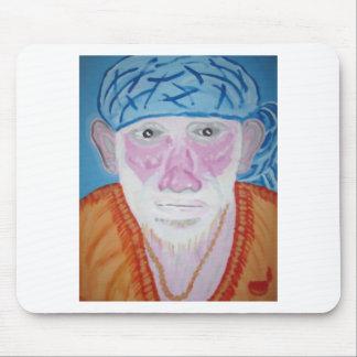 SAI BABA of Sirdi Monk Master Guru Yogi Blessing Mousepad