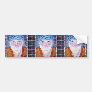 SAI BABA SIRDI Saint Guru Teacher Preacher Prayer Bumper Sticker