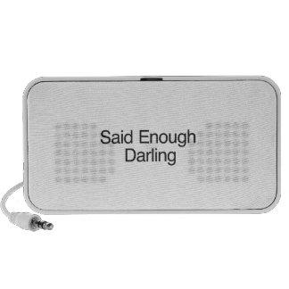 Said Enough Darling Mini Speakers
