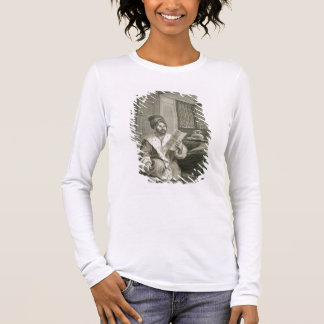 Said Mustapha Pasha Wounded at the Battle of Abouk Long Sleeve T-Shirt