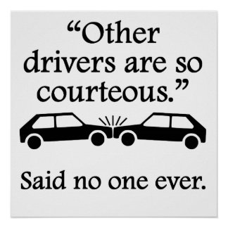Said No One Ever: Other Drivers Poster
