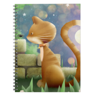 Said the Cat to the spider - notebook