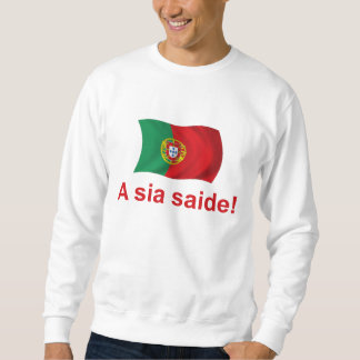 ¡Saide del sia de Portugal A! Sudadera Con Capucha