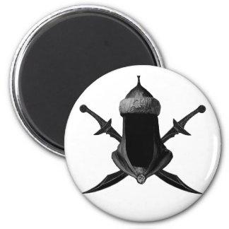 Saif Al Islam 2 Inch Round Magnet