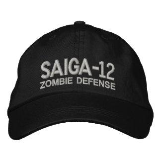 Saiga 12 - Defensa del zombi Gorras De Béisbol Bordadas