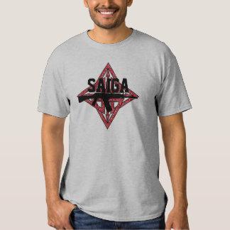 Saiga 12 - Estrella de la silueta de Saiga Playeras