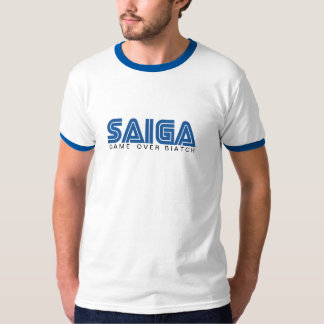 SAIGA 12 - Game Over B*atch T-Shirt