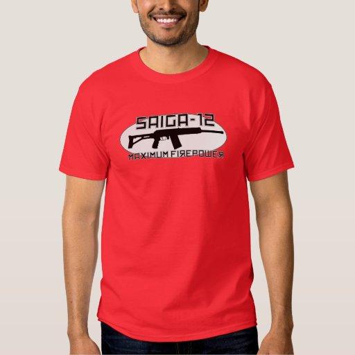 Saiga 12 - Potencia de fuego máxima Camisas