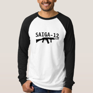 Saiga 12 - Silhouette Front Grip Fold Stock Tee Shirt