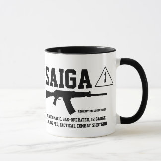 Saiga 12 Tactical Combat Shotgun Coffee Mug