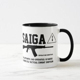 Saiga 12 Tactical Combat Shotgun Coffee Mug