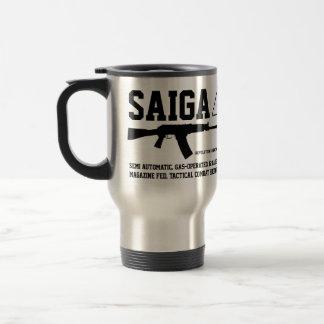 Saiga 12 Tactical Combat Shotgun Travel Coffee Mug