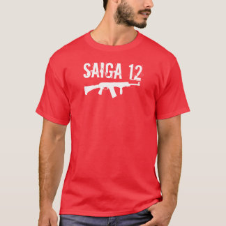 Saiga 12 - Team Shirt Front Grip Folding Stock