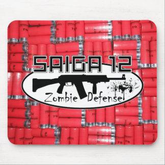 Saiga 12 - Zombie Defense Mouse Mat Mouse Pad