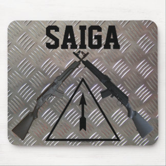 Saiga Rifle Mousepad