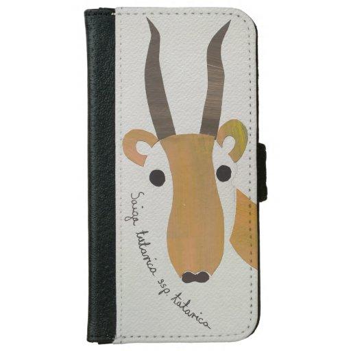 Saiga tatarica iPhone 6/6s wallet case