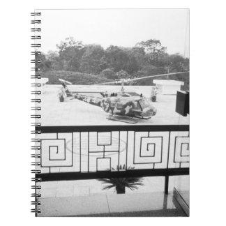 Saigon HCMC Vietnam, Huey Helicopter Notebook