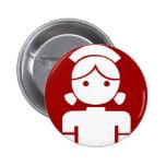 saika badge 2 inch round button