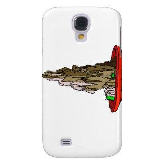 Saikei Cliff in Red Pot Bonsai Graphic Galaxy S4 Cover