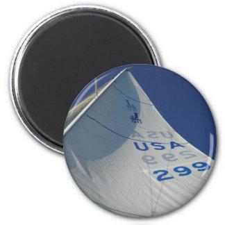 Sail 2 Inch Round Magnet
