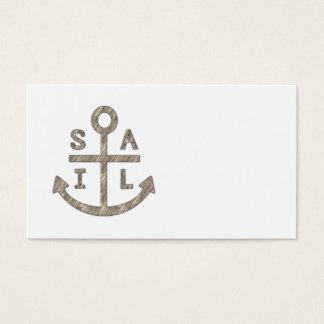 Sail Anchor Business Card