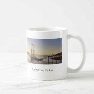 Sail at daybreak coffee mug