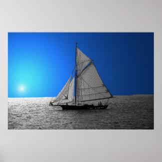 Sail Away 36 x 24 Poster