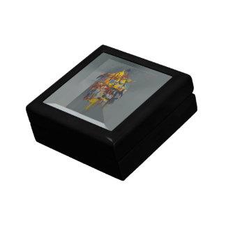 Sail Away Abstract Keepsake Box
